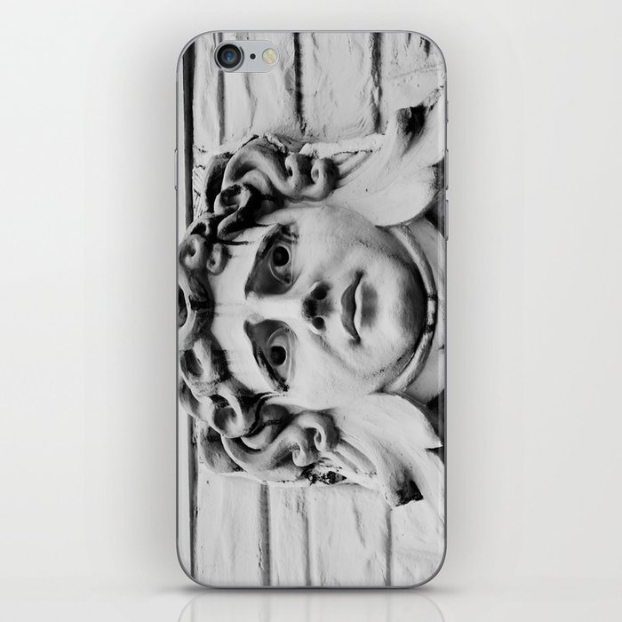Face of stone iPhone Skin