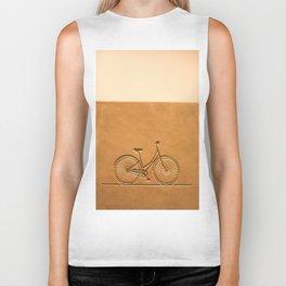 i like to ride my bicycle  Biker Tank