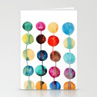 planets Stationery Cards featuring Planets by Mille Dørge