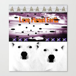 Save Planet Earth II Canvas Print