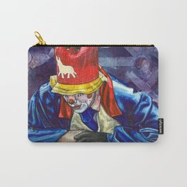 Thinking Clown Carry-All Pouch
