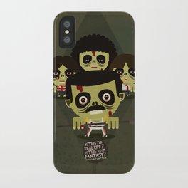 queen zombies iPhone Case