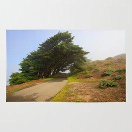 Wind Swept Trees Rug