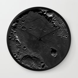 The Dark Side Of The Moon (Mare Moscoviense) Wall Clock