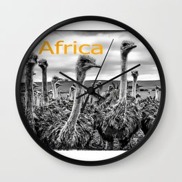 Africa III Wall Clock