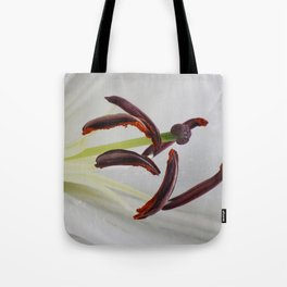 Heart of a Lily Tote Bag