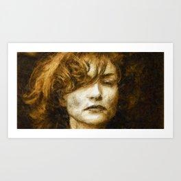 Isabelle H Art Print