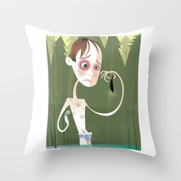 Gordie Lachance Throw Pillow