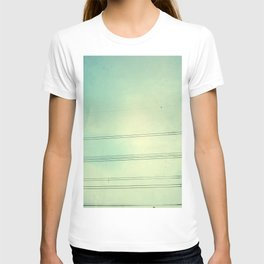 Horizontal Lines in the air T-shirt