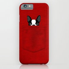 Pocket Boston Terrier iPhone 6 Slim Case