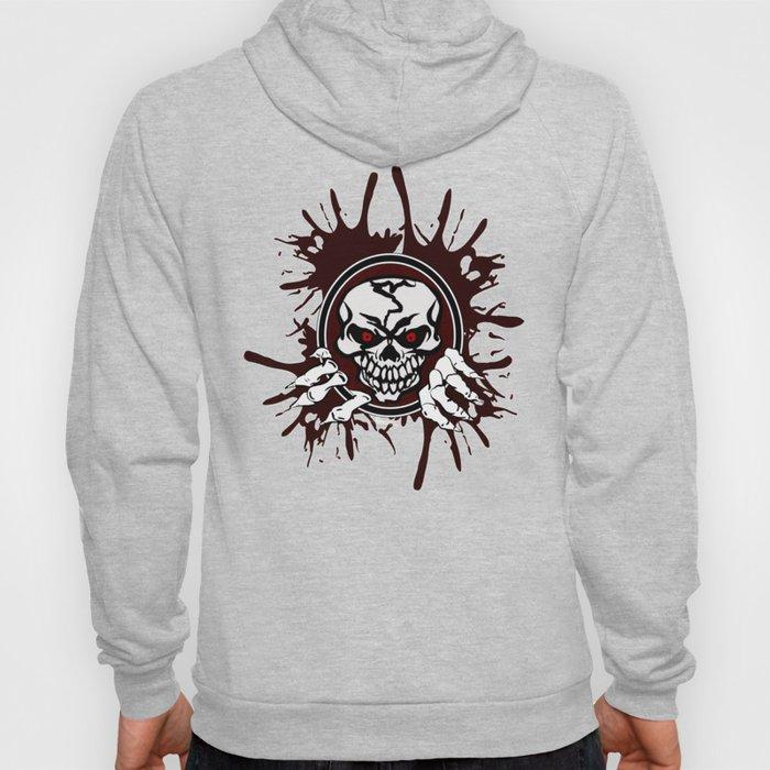 Skull logo Hoody