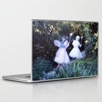 fairies Laptop & iPad Skins featuring Fairies by Hugh Hamilton