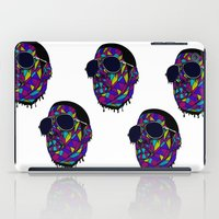 rap iPad Cases featuring Rap Gangster by emalakaite
