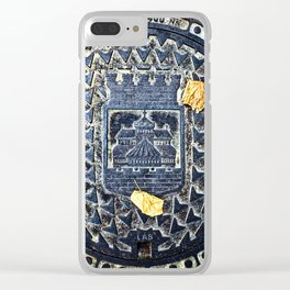 Coat Of Arms Clear iPhone Case