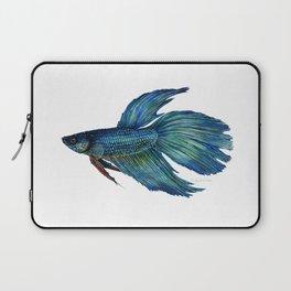 Mortimer the Betta Fish Laptop Sleeve