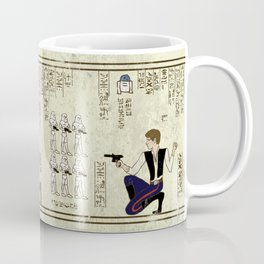 hero-glyphics: The Force Coffee Mug