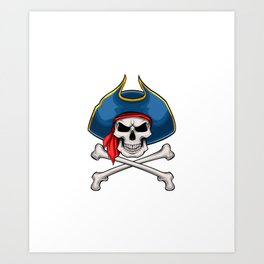 Instant Pirate Just Add Rum Funny Bow Arrow Sport Hunter Art Print