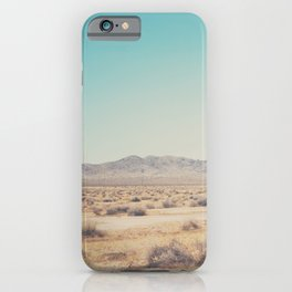 in the distance ... iPhone Case