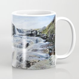 Waterfall on the East Dart River Coffee Mug