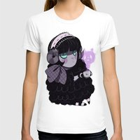 goth T-shirts featuring Goth Tea by Princess Misery