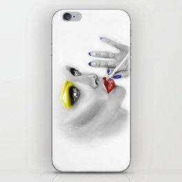 + DARKEST PLACE + iPhone Skin