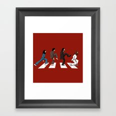 English walker Framed Art Print