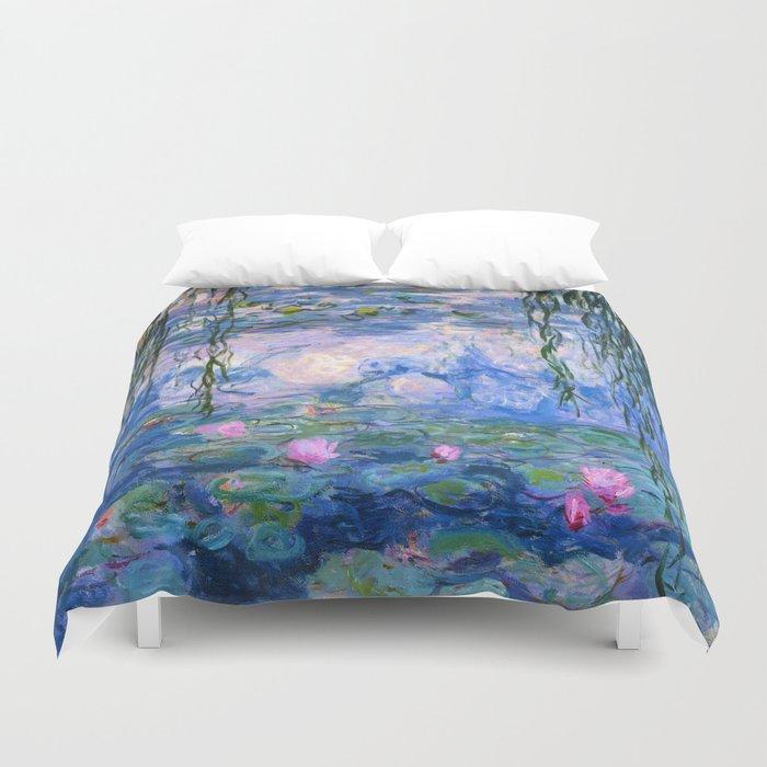 Water Lilies Monet Duvet Cover