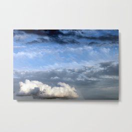 up above Metal Print