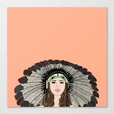 Southwest queen Canvas Print