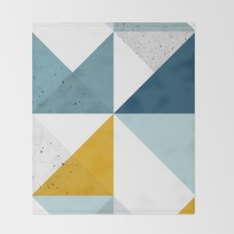 Modern Geometric 18 Throw Blanket