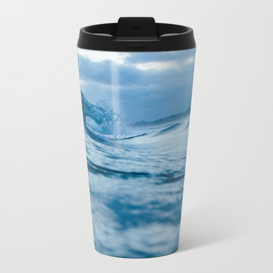 The Tide Always Comes Back Metal Travel Mug