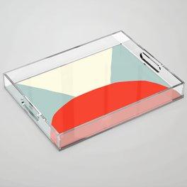 Deyoung Modern Acrylic Tray