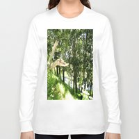 forrest Long Sleeve T-shirts featuring Forrest Feeling by I AmErika