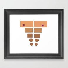 ABSstract! Framed Art Print