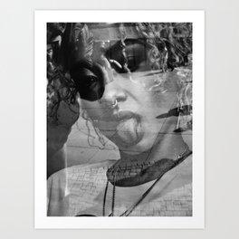 Reflect Portrait, Berlin 2018 Art Print