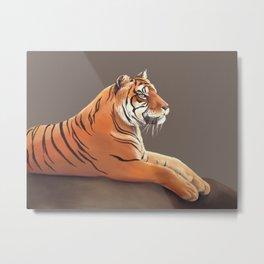 Tiger I Metal Print