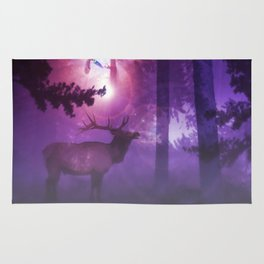 The enchanted forest Rug