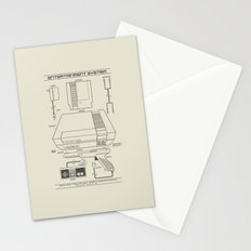 Entertainment System (light) Stationery Cards