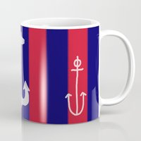 anchor Mugs featuring anchor by gzm_guvenc