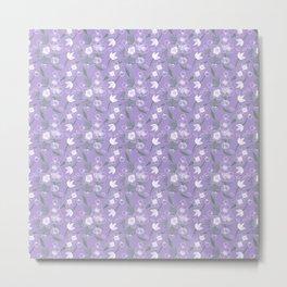 Floral Pattern #01B Metal Print