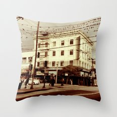 sixteenth Throw Pillow