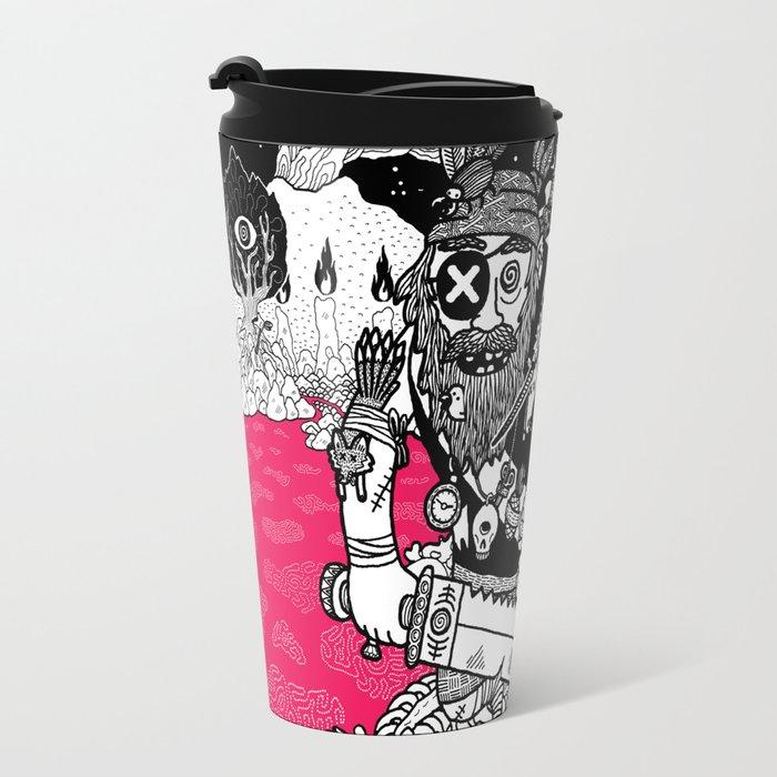The Taxidermist Travel Mug