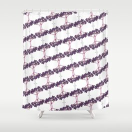 elderberries Shower Curtain
