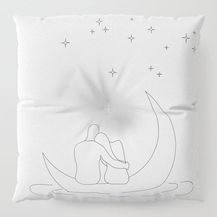 Honeymoon Floor Pillow