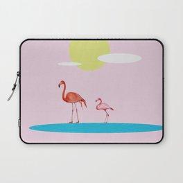Flamingo Route  Laptop Sleeve