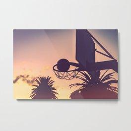 basketball hoop 1 Metal Print