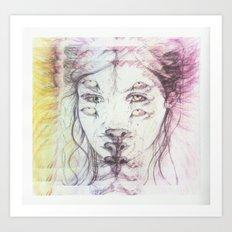 inner lion Art Print