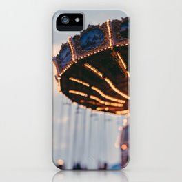 Art Deco Flying Chairs iPhone Case
