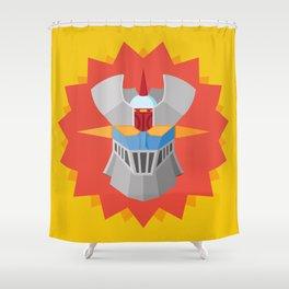 Mazinger Shower Curtain