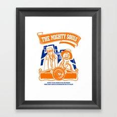 The Mighty Souls: Hip Hop Legends Framed Art Print